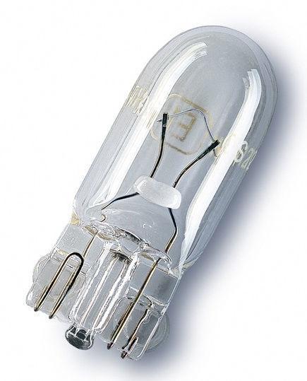 Автомобильная лампочка Osram 3W 12V W2.1 x 9.5D 2821-02B