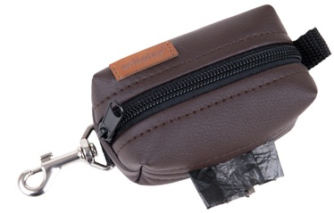 Amiplay Lincoln Waste Bags Dispenser Brown 9x5x4cm