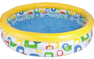 Bassein Intex Inflatable Pool Wild Geometry 114x25cm