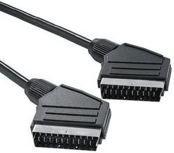 Roger Scart to Scart Video Cable 2m Black
