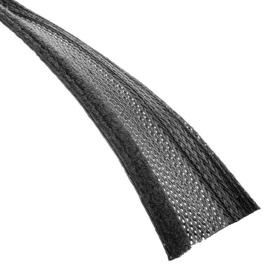 Techflex Flexo Wrap With Velcro 19mm Black 1m