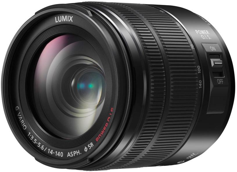 Panasonic LUMIX G VARIO 14-140mm/F3.5-5.6 ASPH Power O.I.S. Black