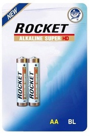 Rocket LR6HD-2BB AA Super HD Batteries 2x