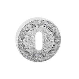 Durvju aizsargplāksnīte Metal-Bud Tosca Keyhole Cover Nickel