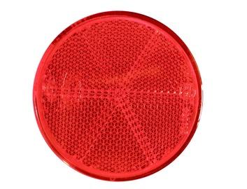 Автомобильный отражатель, красный