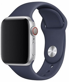 Devia Deluxe Series Sport Band For Apple Watch 44mm Midnight Blue