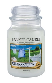Yankee Candle Classic Large Jar Clean Cotton 623g