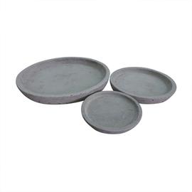 SN Pot Plate RP16-516 D14 Grey