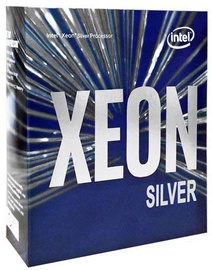 Процессор сервера Intel® Xeon® Silver 4112 2.6GHz 8.25MB BOX, 2.6ГГц, LGA 3647, 8.25МБ