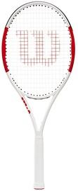 Tennisereket Wilson Six.One Lite 102, valge/punane
