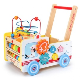 EcoToys 4in1 Walker With Maze & Counter