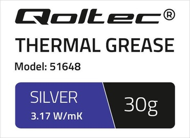 Qoltec Thermal Grease 3.17 W/m-K 30g