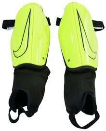 Nike Charge 2.0 Soccer Shin Guard Yellow Black L