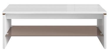 Kafijas galdiņš Black Red White Azteca Trio White, 1100x650x400 mm