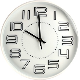 Diana Wall Clock Analog White 30cm