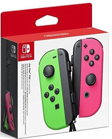 Nintendo Joy-Con Pair Neon Green/Neon Pink