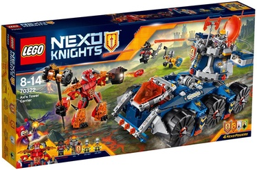 Konstruktor Lego Nexo Knights Knights Axl's Tower Carrier 70322