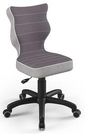 Детский стул Entelo Petit CR07, черный, 350 мм x 830 мм