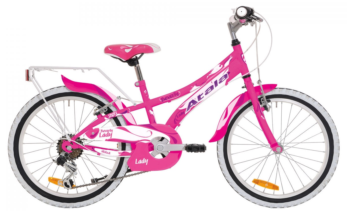 e6ed4de74d0 Jalgratas Atala Beverly 6V II Pink White