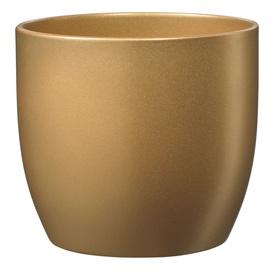 Вазон Soendgen Keramik Basel Glamour, золотой