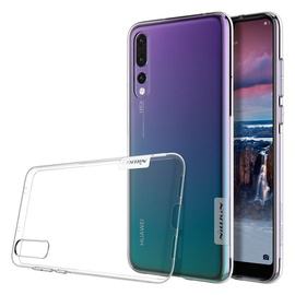 Nillkin Nature Gel Ultra Slim Back Case For Huawei P20 Pro Transparent