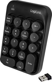 LogiLink Wireless Keypad Black ID0173