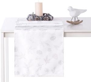 AmeliaHome Magic Night AH/HMD Tablecloth Silver 40x140cm