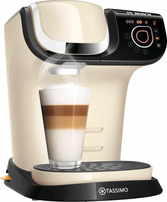 Kapsulas kafijas automāts Bosch My Way 2, bēša