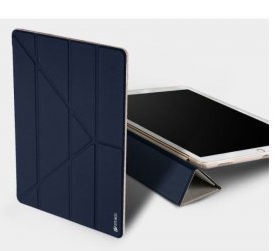 Dux Ducis Premium Magnet Case For Apple iPad 2/3/4 Blue