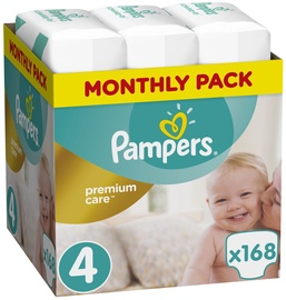 Pampers Premium Care S4 168