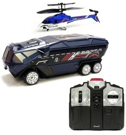Silverlit RC Helicopter Helli Mission 85852