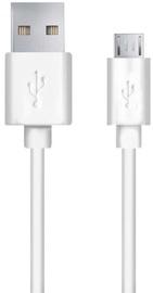 Esperanza Cable USB to USB-micro White 1.2m