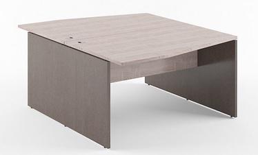 Skyland Xten X2CT 149.3 Double Table Sonoma Oak/Legno Dark
