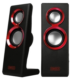 Sweex SP201 Purephonic 2.0 Black Red