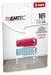 Emtec Wallpaper M750 16GB USB 2.0 Pack 3