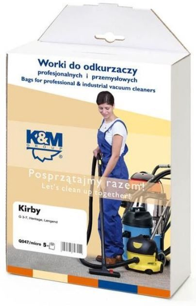 K&M Group Vacuum Cleaner 5 Bags