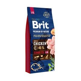 Sausas ėdalas šunims Brit Premium Senior L, su vištiena, 3 kg