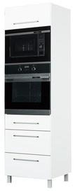 Bodzio Loara Oven & Microwave Cabinet White