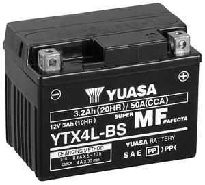 Аккумулятор Yuasa YTX4L-BS, 12 В, 3 Ач, 50 а