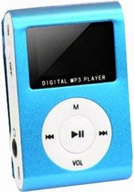 Setty MP3 Super Compact Music Player Blue