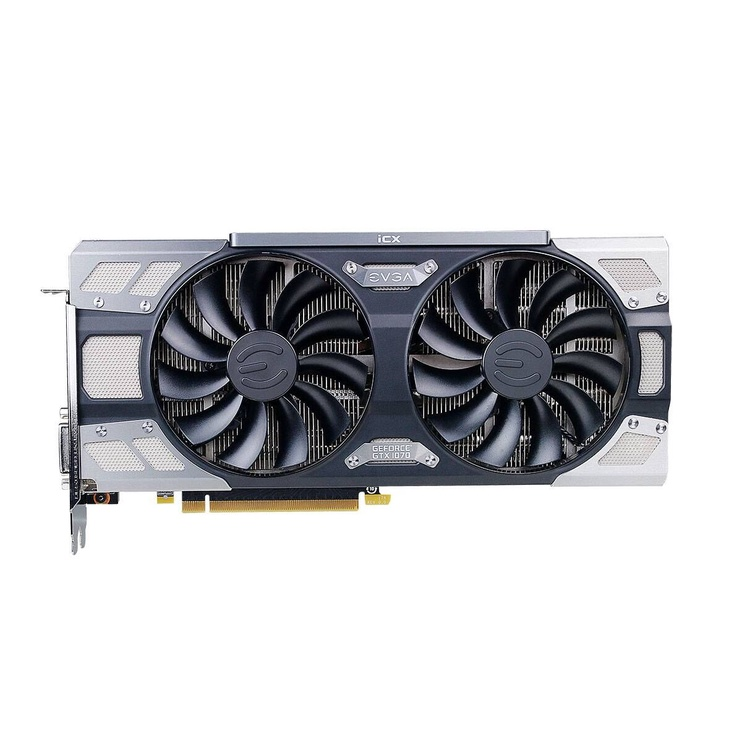 EVGA GeForce GTX 1070 FTW 2 Gaming iCX, 8GB GDDR5 08G-P4-6676-KR