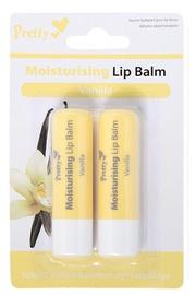 Pretty Moisturising Lip Balm Vanilla 2x4.3ml