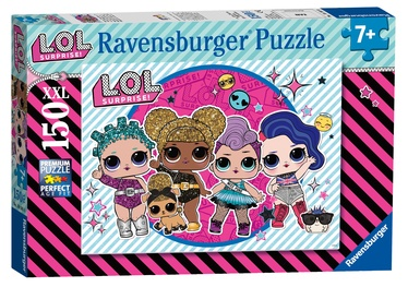 Dėlionė Ravensburger XXL LOL Surprise Girls Night Out 12883, 150 dalių