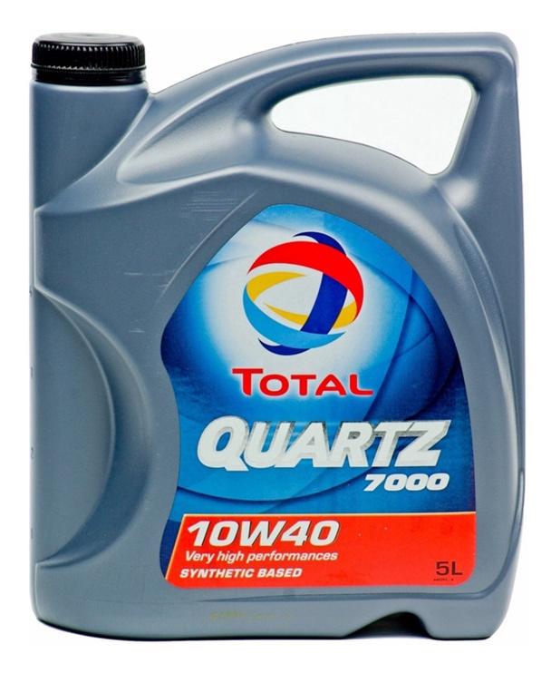 Motoreļļa Total Quartz 7000, 10w40 5 l