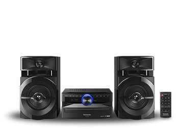 Muusikakeskus Panasonic SC-UX102E-K, 300 W, must
