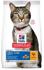 Hill's Science Plan Oral Care Adult Cat Food w/ Chicken 7kg