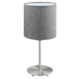 Eglo Pasteri Table Lamp 60W E27 Grey