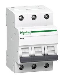 Automatinis jungiklis Schneider K60N, 3P, C, 6A, 6kA