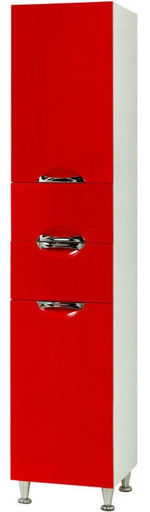 Шкаф для ванной Sanservis Laura-40 Red 40x196.5x41cm