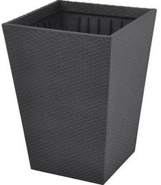 Вазон Keter Rattan Planter S 23.6l Grey